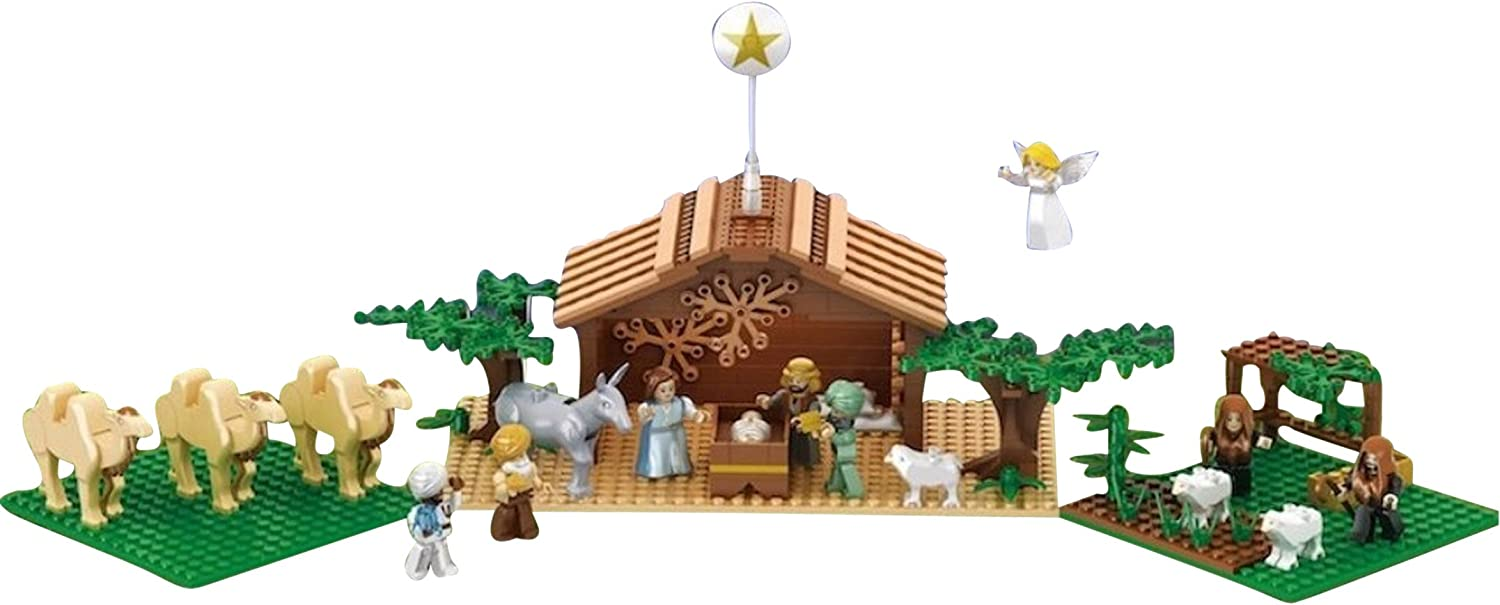 Image result for lego christmas nativity""