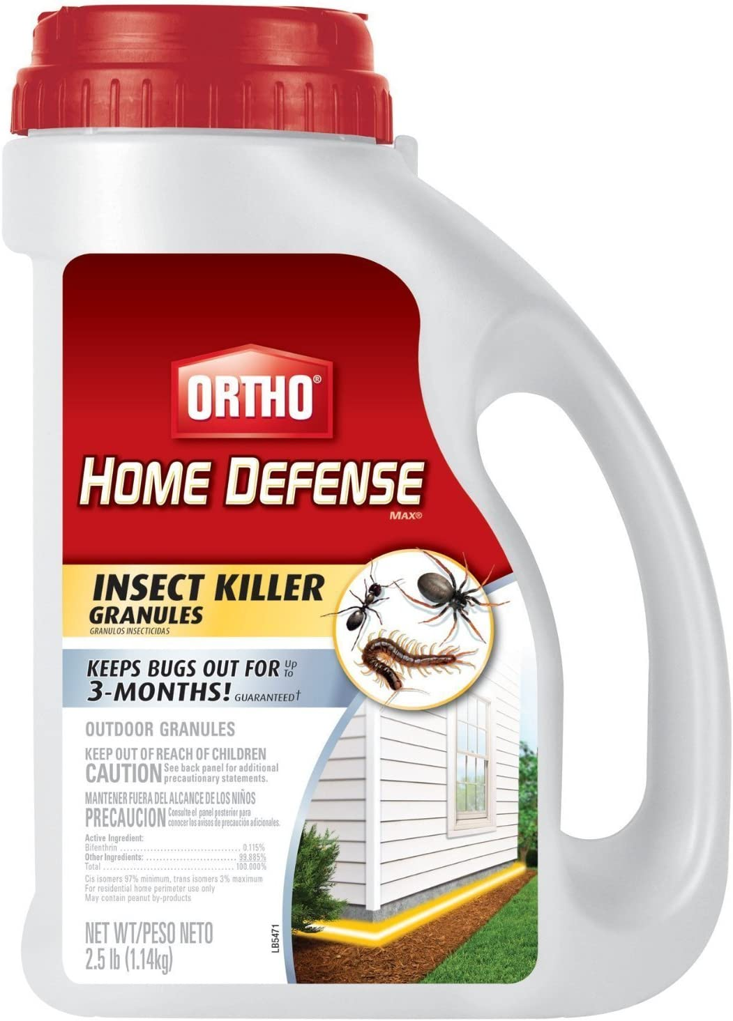Ortho 758399393714 2.5LB Home Def Killer 2-Pack, 2 Pack, Brown/A