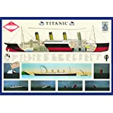 Poster, Titanic, Final Size: 38.5 in X 26.75 in.