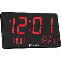 Avalon Oversized LED Digital Desk/Wall Clock