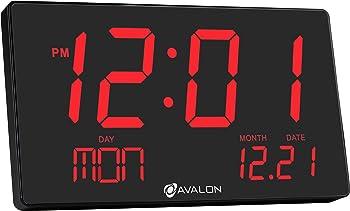 Avalon Oversized LED Digital Clock
