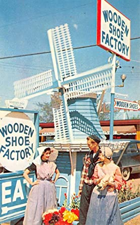 Amazoncom Holland Michigan Wooden Shoe Factory Street View Vintage