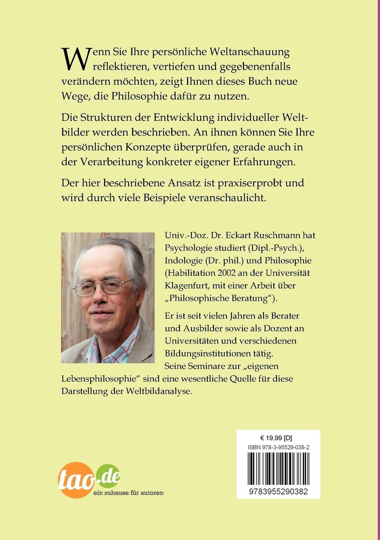 Weltanschauungen und Gottesbilder: Reflexionen für und von ...