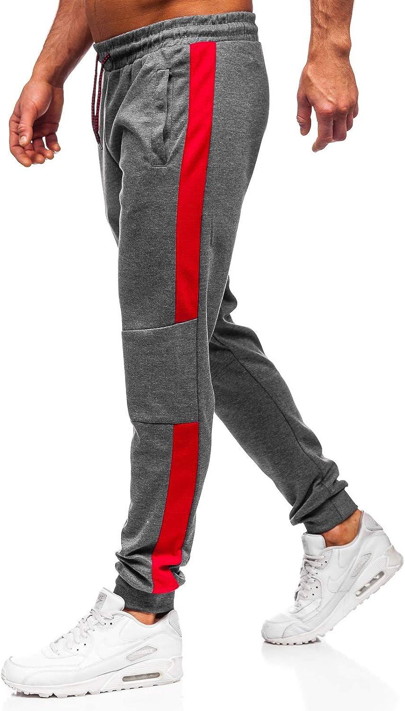 BOLF Herren Sporthose Trainingshose Jogginghose Fitnesshose Joggerhose Freizeithose Sport Style 6F6