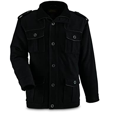 Guide Gear Men's Military Style Jacket at Amazon Men's Clothing store: