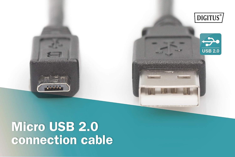 Digitus Usb 2 0 Anschluss Kabel 3m Computer Zubehör