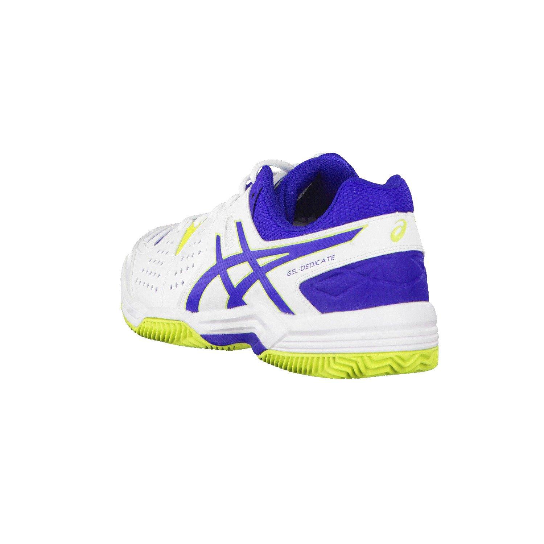 Asics Herren Tennisschuhe Outdoor  Gel Dedicate Dedicate Dedicate 4 Clay  weiss   blau (902) 46EU B018MKHU5W Tennisschuhe Kunde zuerst 4970d8