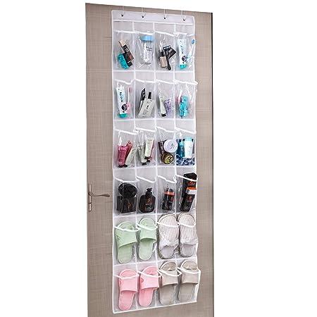Scarpiera da appendere armadio 24 tasche scarpe mensola per armadio porta