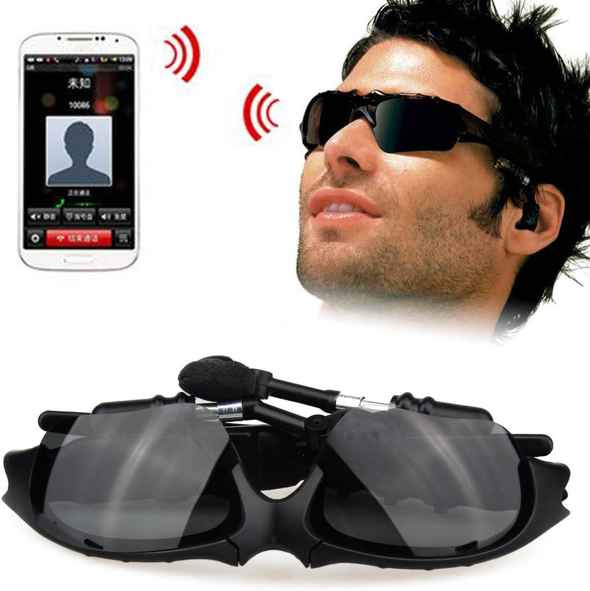 Gafas de sol Universal Bluetooth Headset SOONHUA llamada manos libres lentes polarizadas Gafas Auricular para HTC uno M8, Google Nexus6, SamsungGalaxy S3S4S5S6, MOTO Droid Turbo