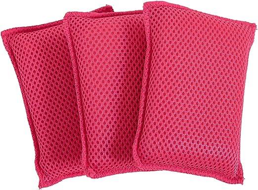 Addis 518489 LQOC-Esponja de Limpieza 100/% Microfibra, Muy Limpia, antiara/ñazos, Resistente, Reutilizable, Paquete de 5 Unidades, Mixto, Pack de 5
