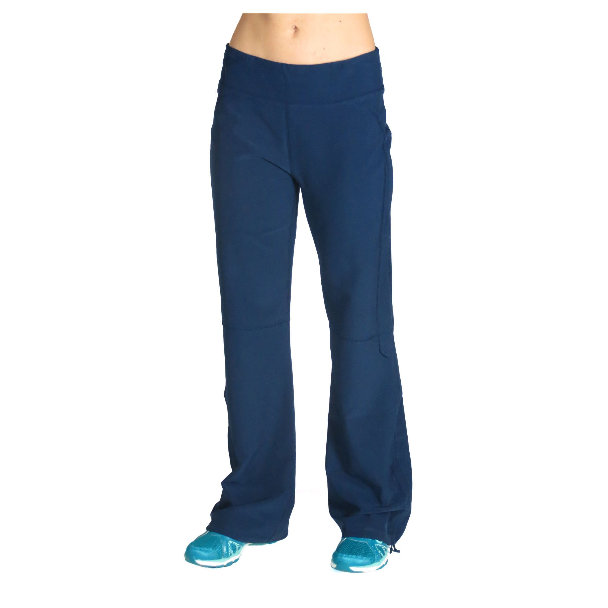 Alex + Abby Women's Plus-Size in-Motion Pant 3X True Blue Navy