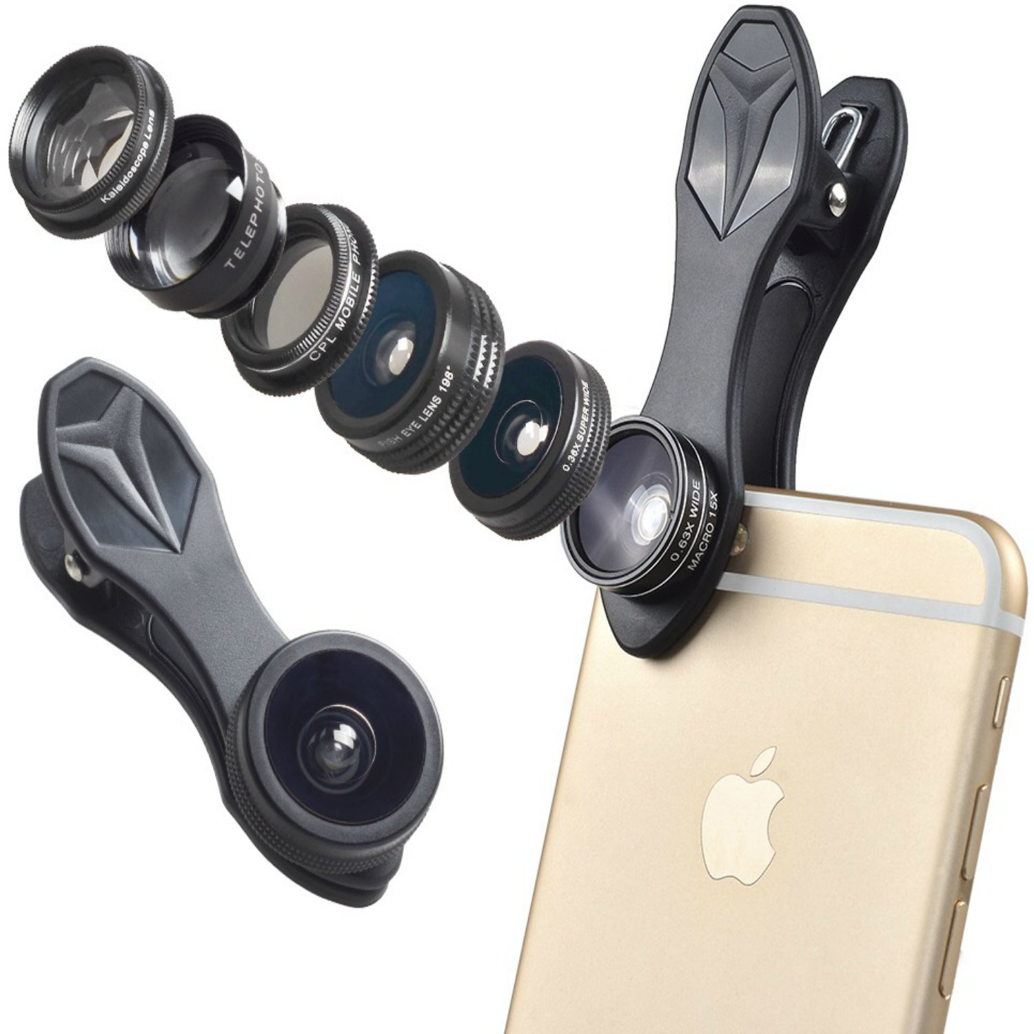 Photo lenses for iPhone
