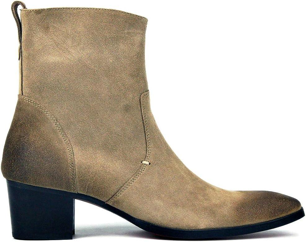 designer tan boots