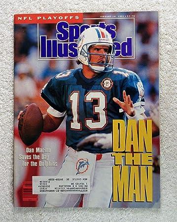 d718cd5c7 Dan Marino - Miami Dolphins - Dan The Man - Sports Illustrated - January 14