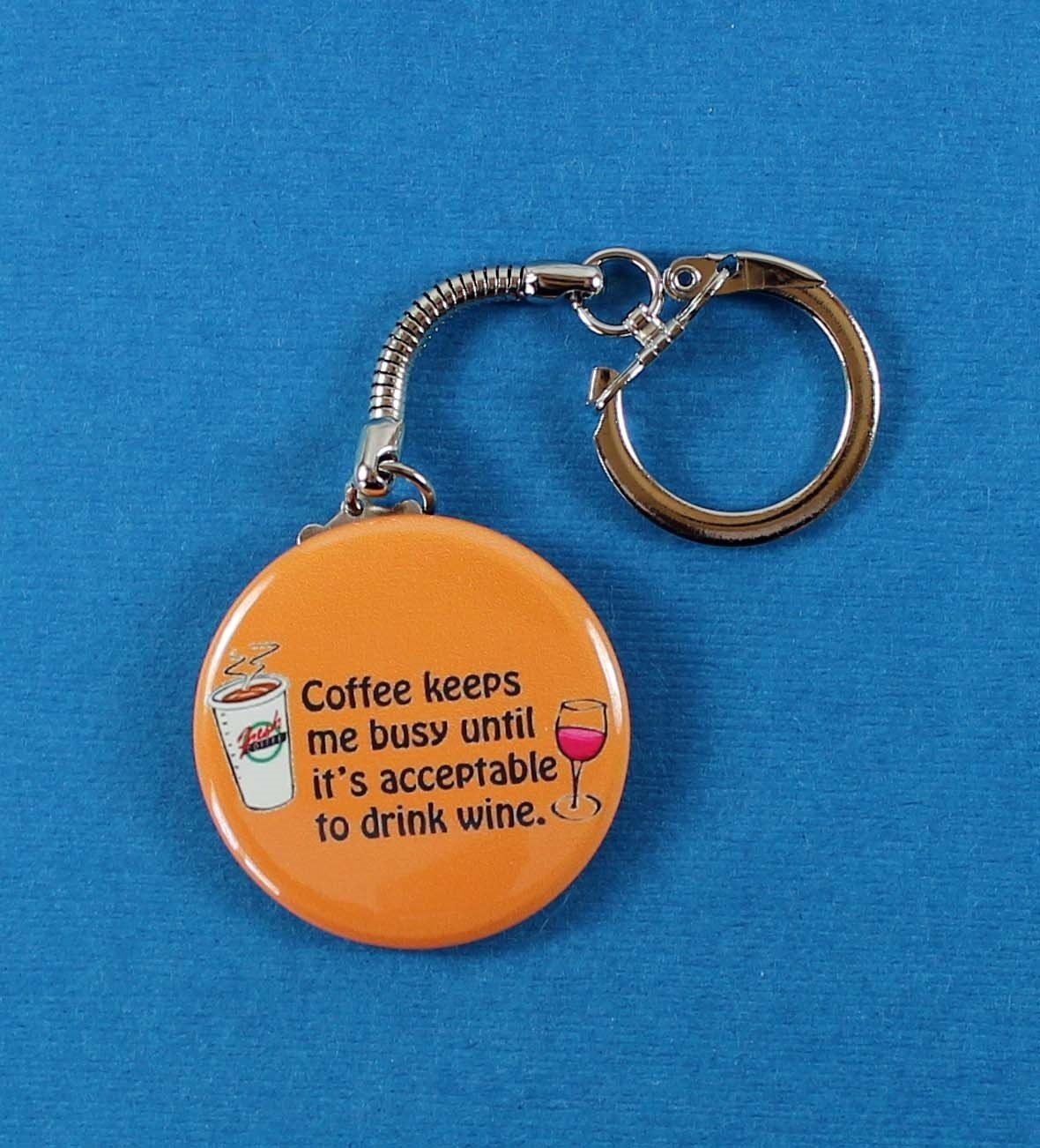 Amazon com: Coffee Keeps Me Busy Until It's Acceptable to Drink Wine