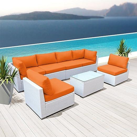Amazon.com: Nueva modenzi 7 G-U exterior Seccional Muebles ...