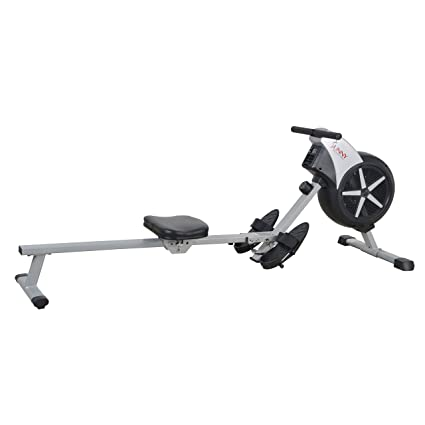 1c21280720e Amazon.com   Sunny Health   Fitness SF-RW5633 Air Rowing Machine Rower w   LCD Monitor   Sports   Outdoors