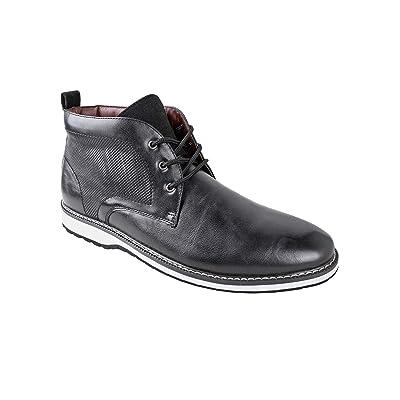 Ferro Aldo Men's Denver Ankle Boots | Lace Up | Mens Boots Fashion | Casual Fashion | Chukka Boots Men | Chukka