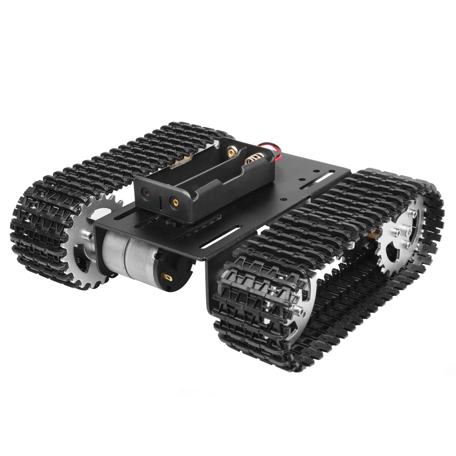 OTTFF Robot Tank Chassis Track Arduino Tank Chassis Raspberry DIY STEM - Speed of 20m / min Maximum Load 2kg