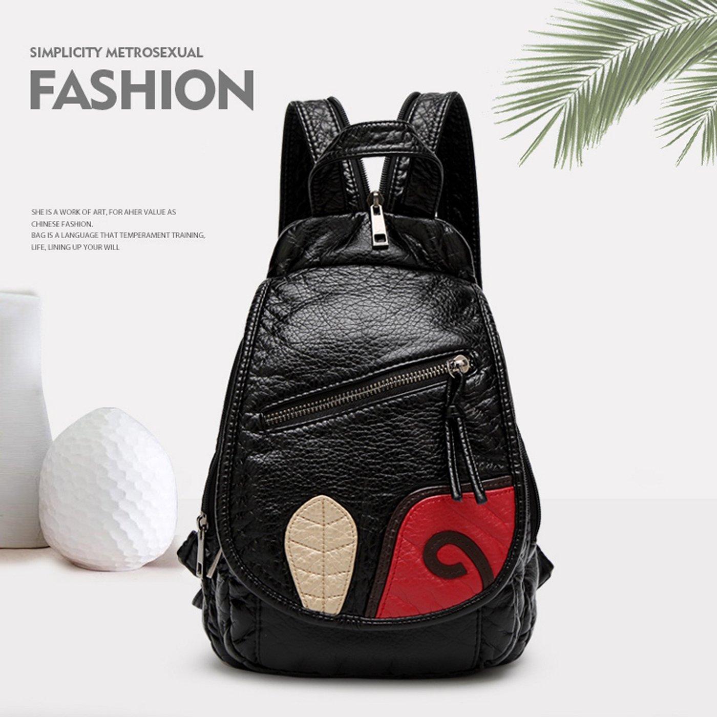 Amazon.com  Sdinaz ashion Soft Leather Small Travel Backpack Crossbody Bag  Backpacks for Girls Women  Shoes 7149126645