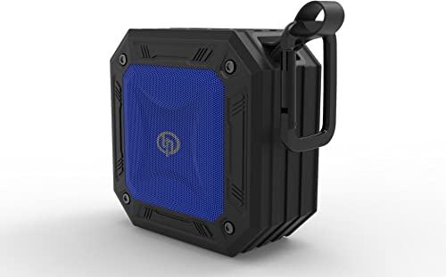 TECHQ HyrdoSound Sport – Waterproof IP67 Outdoor Bluetooth Speaker 5W – 16 Hours of Play time
