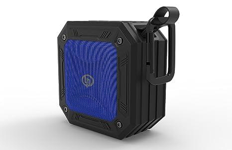 TECHQ HyrdoSound Sport - Waterproof (IP67) Outdoor Bluetooth Speaker 5W -  16 hours of play time