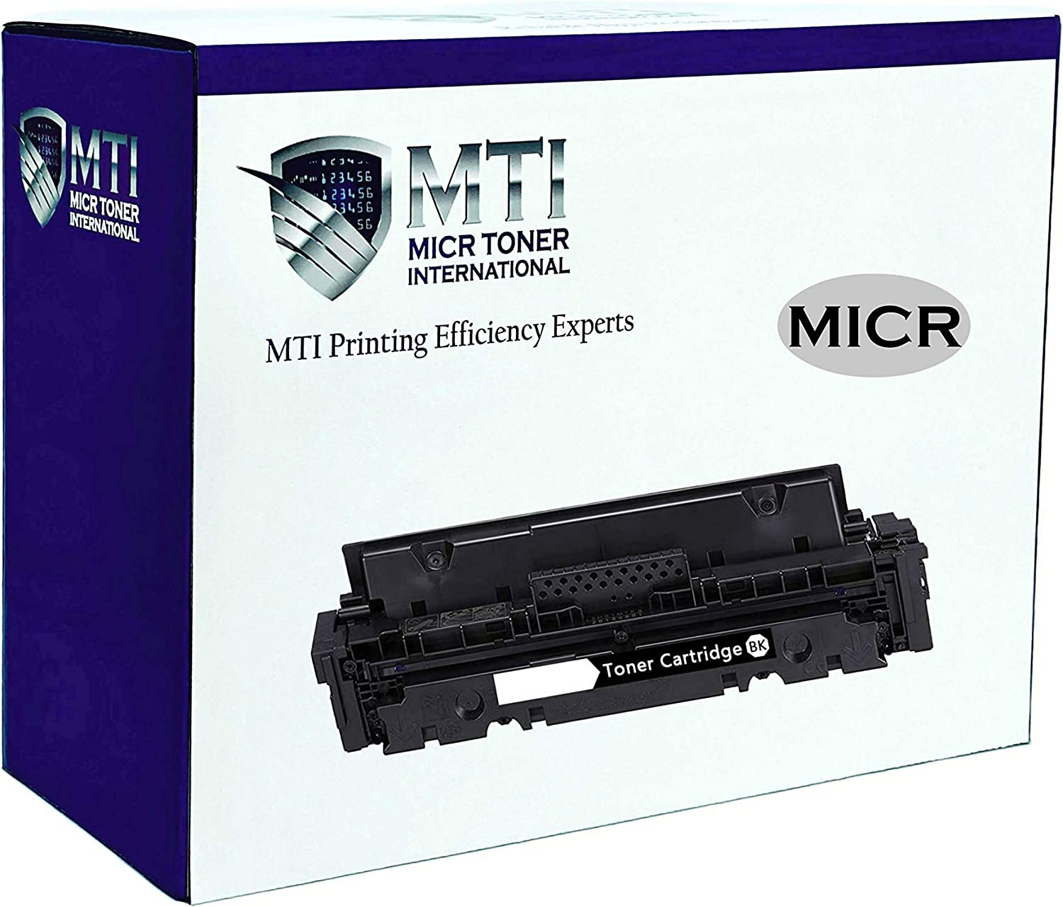 MICR Toner International OEM Modified Magnetic Ink Cartridge Replacement for HP W2020A 414A Laserjet M454 M479