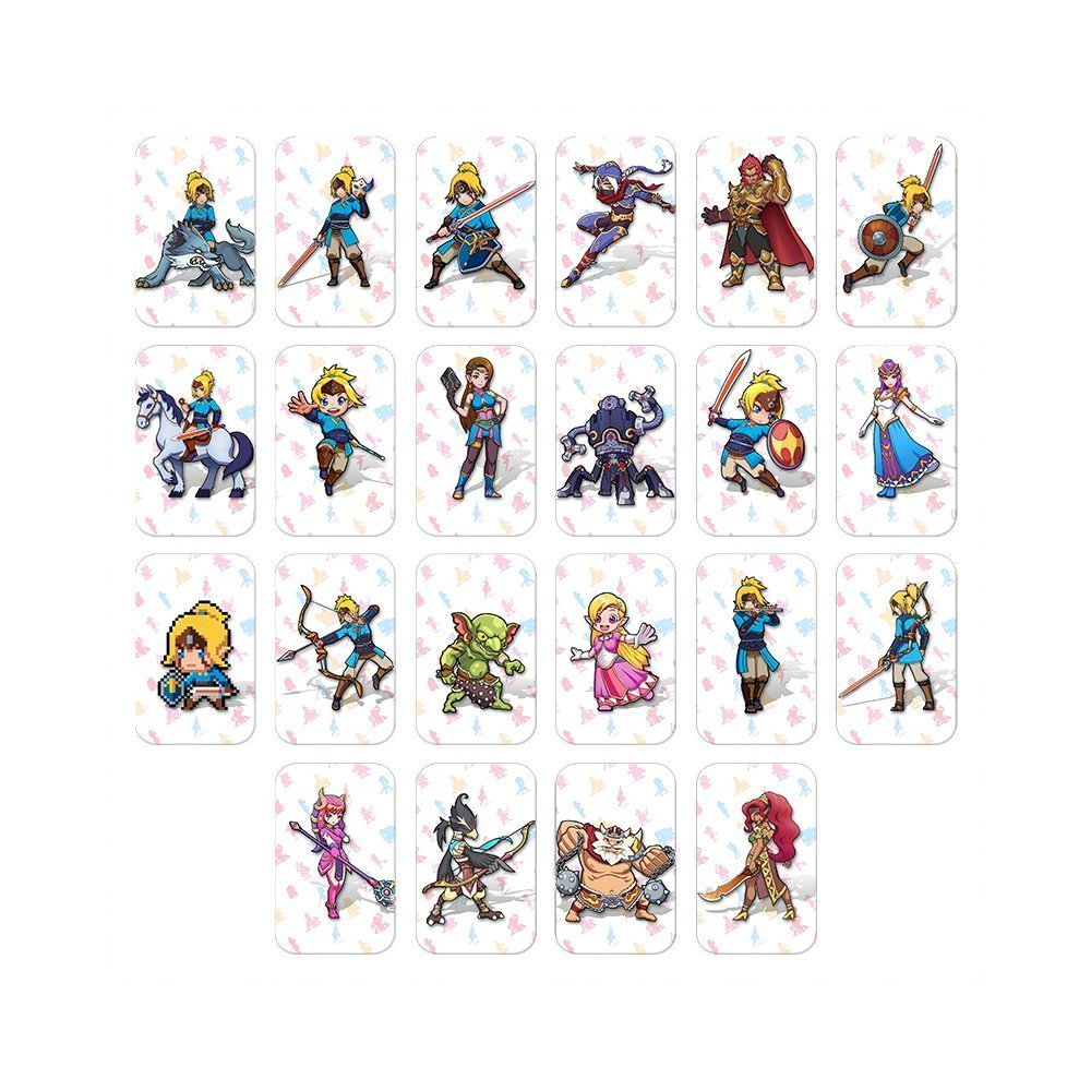 The Legend of Zelda: Breath of The Wild Standard NFC Cards - 22 PCS Set for Switch / Wii U
