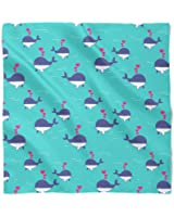 I Whale Always Love You Satin Style Scarf