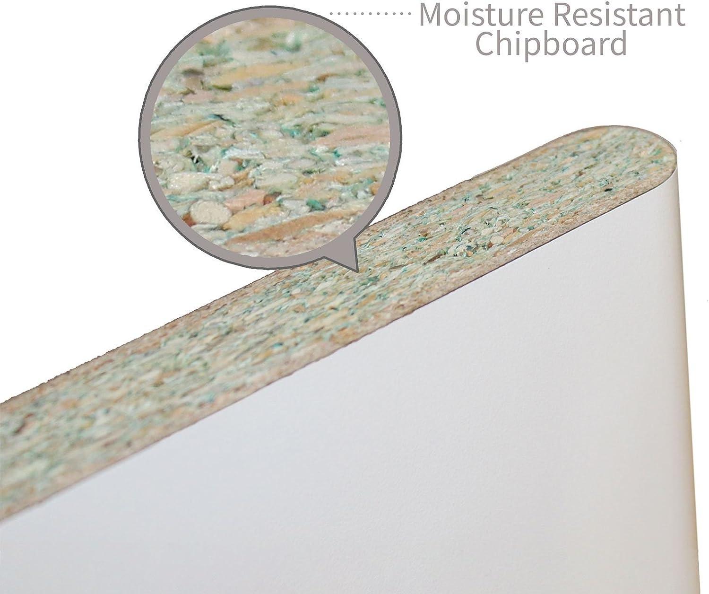 4 x Polyboard//Dura Board Internal Cill End Caps Upvc **White**