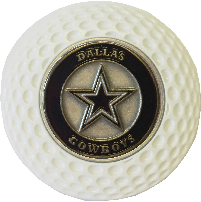 ダラスカウボーイズ ゴルフボールマーカー アクリルポーカーチップ ギフト アイデア NFL   B07JM42VSS