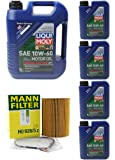 08-13 BMW M3 E90/ E92/ E93 4.0L OIL CHANGE KIT W/LIQUIMOLY 10W-60. (See Fitment Below In Product Discription)