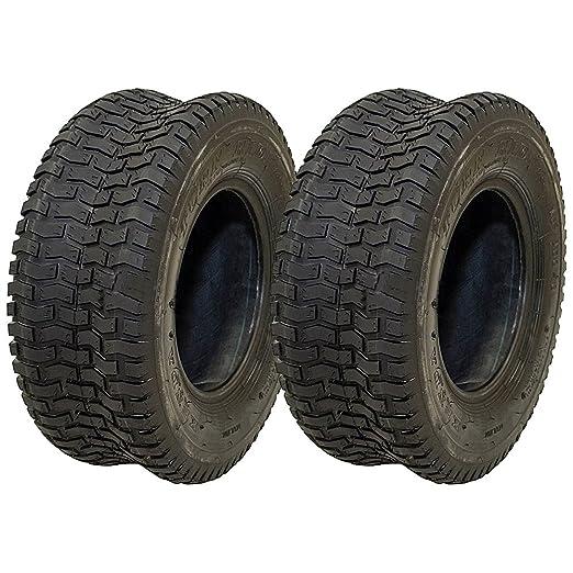 2 Neumáticos Kenda 16 x 6.50 - 8 Go carro de golf de césped ...