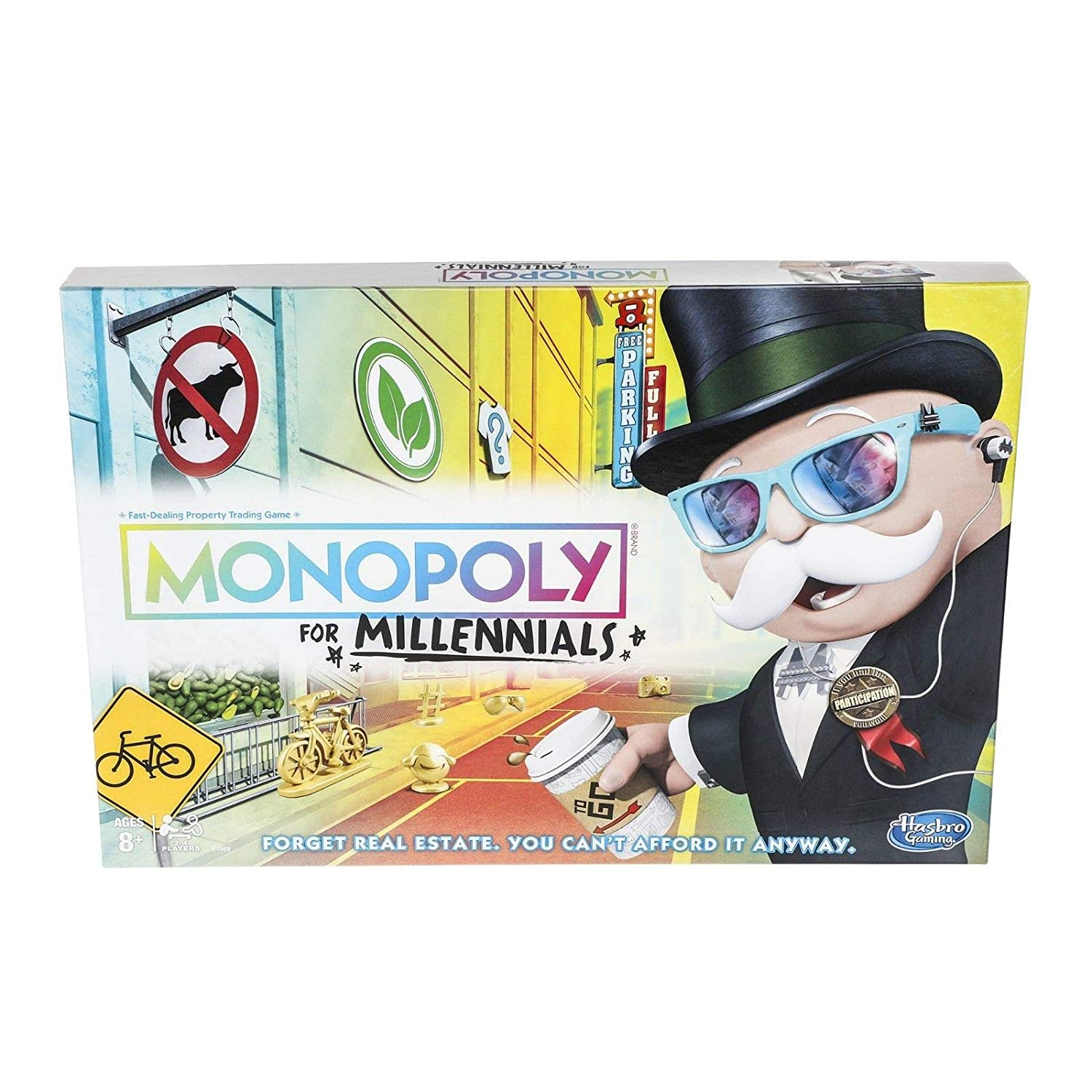 Monopoly Millennials edition  Fast Free Shipping