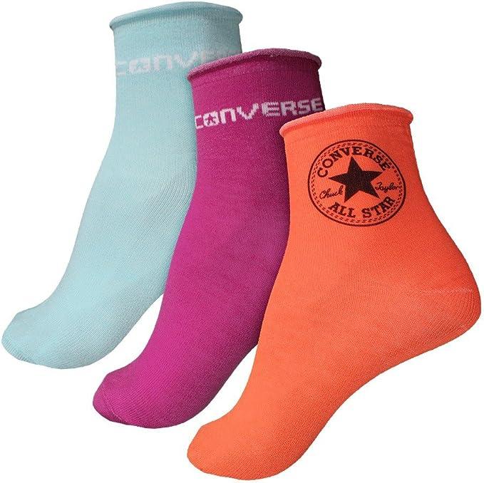 Damen Socken 3 pack in grau von Converse günstig im Online