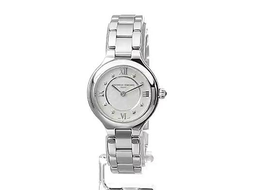 Amazon.com: Frederique Constant Womens FC200WHD1ER36B Delight Analog Display Swiss Quartz Silver Watch: Frederique Constant: Watches