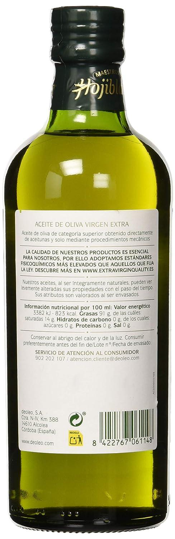 Hojiblanca Aceite De Oliva Virgen Extra Blend Numero 5 Vidrio ...