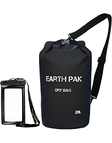 cca3206222e1 Earth Pak -Waterproof Dry Bag - Roll Top Dry Compression Sack Keeps Gear  Dry for