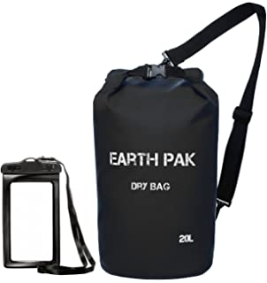 9aee78d12f70 Earth Pak -Waterproof Dry Bag - Roll Top Dry Compression Sack Keeps Gear  Dry for