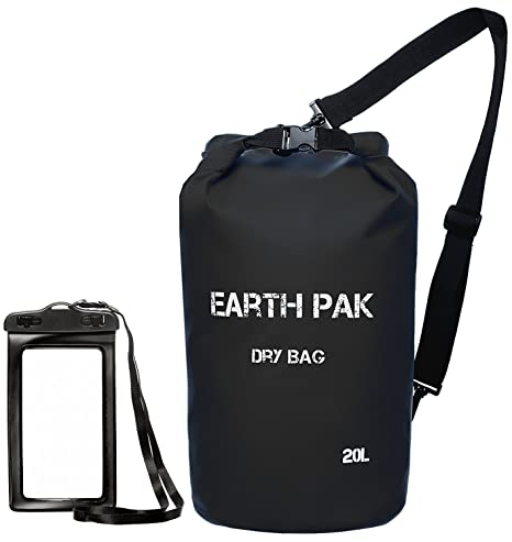 f1f0119b906 Earth Pak -Waterproof Dry Bag - Roll Top Dry Compression Sack Keeps Gear  Dry for