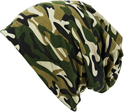 Army Military Camouflage Fleece Lined Beanie Ski Camo Hat Cap ITZU Co