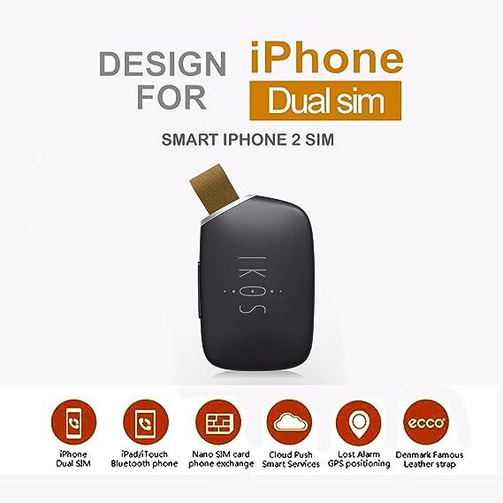 JOSOZ IKOS iPhone 5 5s 6 6s 7 APP Dual SIM Card Bluetooth