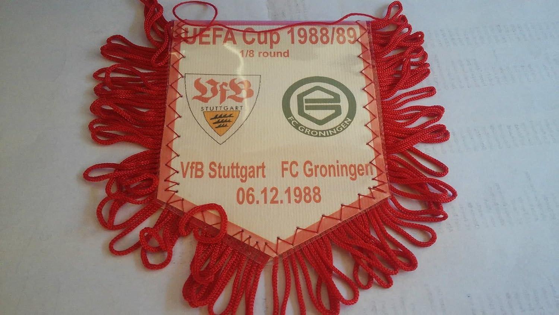 Wimpel Pennant FC Groningen # 8 x 10 cm