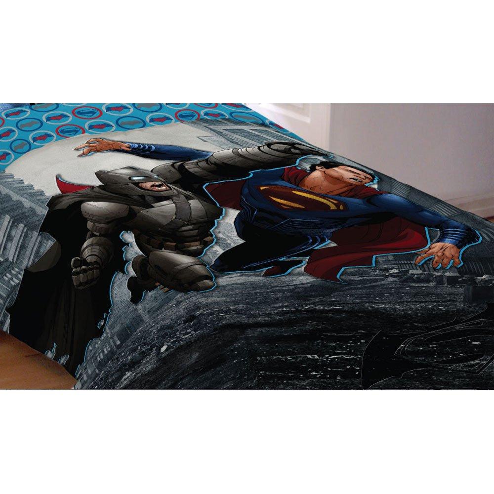 Warner Bros. 72'' x 86'' Batman Vs Superman World's Finest Reversible Comforter, Twin/Full