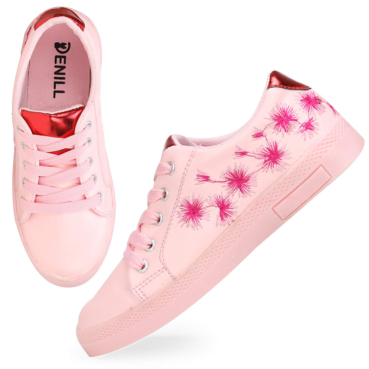 Denill Comfortable & Fashionable Sneaker Shoes for Women & Girls