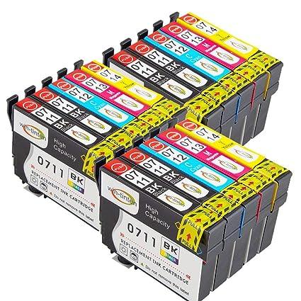 Win-Tinten T0711XL T0712XL T0713XL T0714XL (T0715XL) - Cartuchos ...