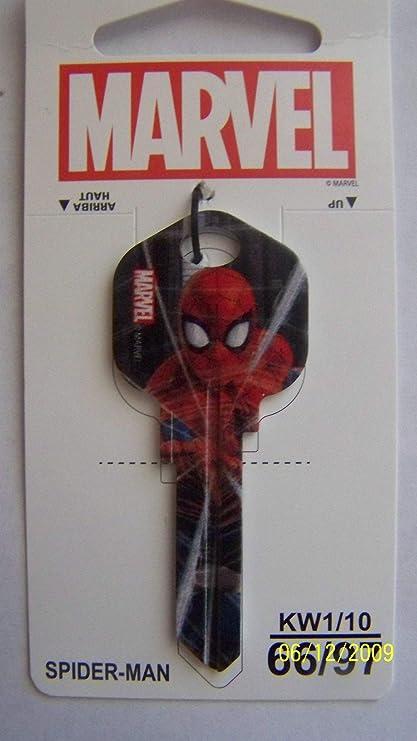 Black Widow Marvel Avengers kwikset KW1//KW10 house key blank