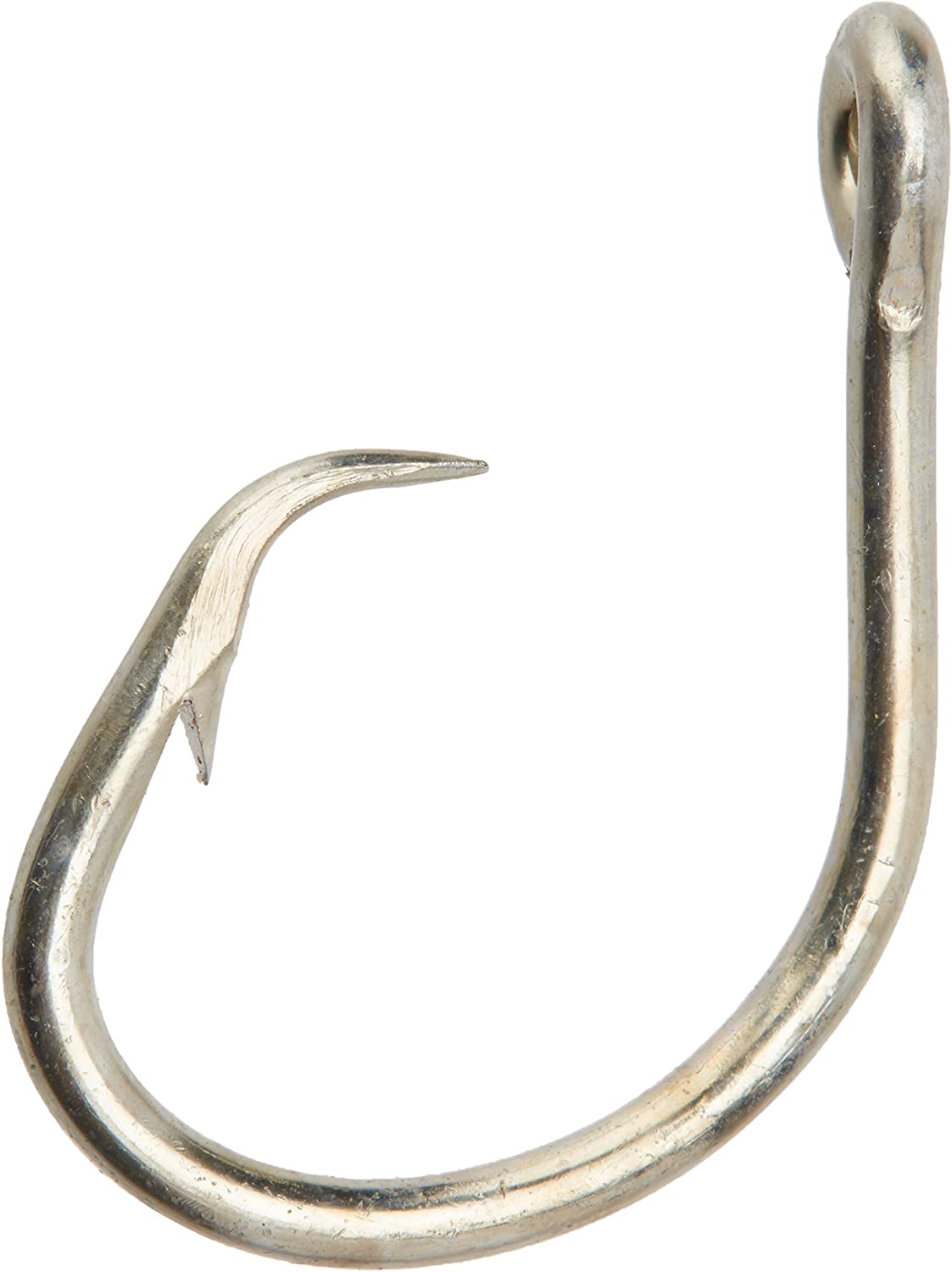 Mustad Classic 2 Extra Strong in Line Point Duratin Circle Fishing Hook | Strong for Heavy Tuna | Fewer Deep Hooks for Catch and Release