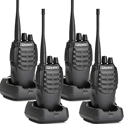 Olywiz 2 Pin Walkie Talkie Two Way Radio Earpiece Compatible with BaoFeng UV5R BF-888S Radio,Retevis H-777 RT21 RT22 RT24,Kenwood and Olywiz HTD826 HTD818 GTS813 UV6S and More 2 Pack