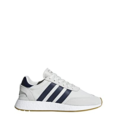 Adidas Mens INIKI RUNNER WHT/NAVY/GUM1 LACE UP 5